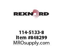 REXNORD 114-5133-8 KU882-13T 1-1/4 KWSS NYL KU882-13T SOLID SPROCKET WITH 1-1/4