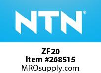 NTN ZF20 BRG PARTS(PLUMMER BLOCKS)