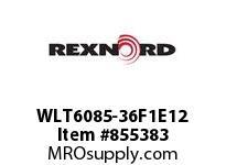 REXNORD WLT6085-36F1E12 LT6085-36 F1 T12P N1 LT6085 36 INCH WIDE MATTOP CHAIN WI