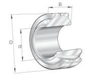 INA GE18PB Elges? spherical plain bearing