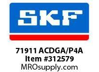 SKF-Bearing 71911 ACDGA/P4A