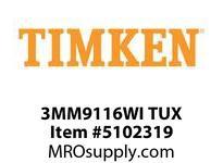 TIMKEN 3MM9116WI TUX Ball P4S Super Precision