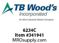 TBWOODS 6234C 6X2 3/4-SD CR PULLEY