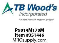 TBWOODS P9014M170M P90-14M-170-M SYNCH SPROCK