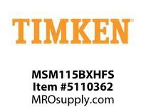 TIMKEN MSM115BXHFS Split CRB Housed Unit Assembly