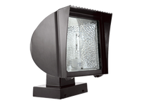 RAB FX100XQT/PC FLEXFLOOD 100W HPS QT HPF WALL MOUNT LAMP + 120V PC BNZ