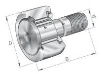 INA KR47PP Stud type track roller