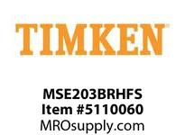 TIMKEN MSE203BRHFS Split CRB Housed Unit Assembly