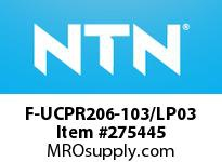 NTN F-UCPR206-103/LP03 MOUNTED UNIT(PLASTIC)