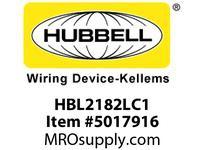 HBL_WDK HBL2182LC1 LOAD CTRL HGR SPLT CIRC 20A 5-20R BR