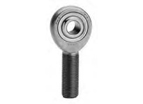 FKB RSM6T 3-PIECE EXTRA STRENGTH-HEAVY DUTY SHANK MALE ROD END RIGHT-HAND WITH TEFLON LINER