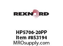 REXNORD HP5706-20PP HP5706-20 PP ROD HP5706 20 INCH WIDE MATTOP CHAIN WI