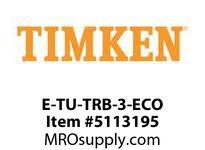 TIMKEN E-TU-TRB-3-ECO TRB Pillow Block Assembly