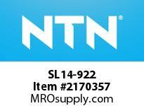 NTN SL14-922 Cylindrical Roller Brg D<=200
