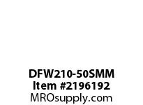 PTI DFW210-50SMM 3-BOLT FLANGE BEARING-50MM DFW 200 SILVER SERIES - NORMAL DUTY
