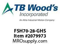 TBWOODS FSH70-28-GHS CPL FSH70-28 4.994/93KL GHS