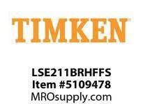 TIMKEN LSE211BRHFFS Split CRB Housed Unit Assembly