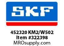 SKF-Bearing 452320 KM2/W502