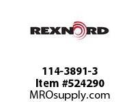REXNORD 114-3891-3 KU4700-11T 1.5^ SQUARE NY 142634