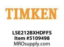 TIMKEN LSE212BXHDFFS Split CRB Housed Unit Assembly