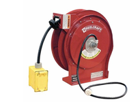 Reelcraft L 5550 123 7 Cord Reel Duplex GFCI QS12 50ft 12 AWG/3 Cond 15 A