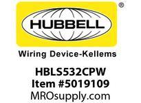 HBL_WDK HBLS532CPW PS IEC SW CONN 4P5W 32A 120/208V WT