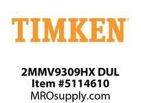 TIMKEN 2MMV9309HX DUL Ball High Speed Super Precision