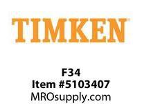 TIMKEN F34 Split CRB Housed Unit Component