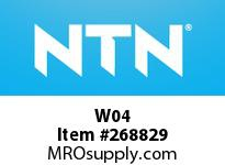 NTN W04 BRG PARTS(ADAPTERS)