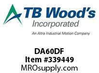 TBWOODS DA60DF REPAIR KIT DBL DA/DP60 MT DISC