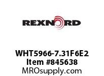 REXNORD WHT5966-7.31F6E2 WHT5966-7.312 R6 T20P N.