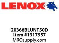 Lenox 20368BLUNT50D LENOX EDGE-BLUNT50D BIMETAL UTILITY