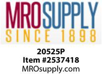 MRO 20525P 1/4 X 1/4 PLSTC STEM X MIP ADPT (Package of 10)