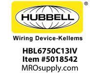 HBL_WDK HBL6750C13IV RACEWAY 13^ COVER HBL6750 SER IV