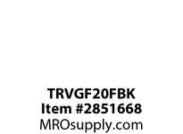 CPR-WDK TRVGF20FBK GFCI TR Deco Duplex 20A 125V BK NAFTA