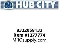HubCity 8322058133 CUP BEARING 55437 OR EQ