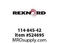 REXNORD 114-845-42 MATROD PE 1/4 X 42 156243