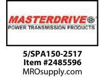 MasterDrive 5/SPA150-2517 5 GROOVE SPA SHEAVE