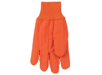 MCR 9018CDOB Corded Double Palm Nap In Knit Wrist High Visibility Orange Mens