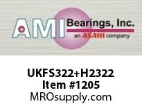 AMI UKFS322+H2322 100MM HEAVY WIDE ADAPTER 4-BOLT PIL