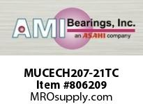 AMI MUCECH207-21TC 1-5/16 STAINLESS SET SCREW TEFLON H BEARING SINGLE ROW BALL BEARING