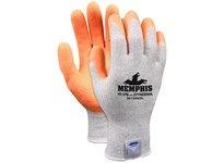 MCR 9672HVOXS Memphis Dyneema 13 Gauge Salt/Pepper Dyneema Orange Crinkle Latex Coated Palm/Fingers