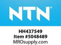 NTN HH437549 LARGE SIZE BEARINGS LARGE SIZE TAPERED ROLLER BRG