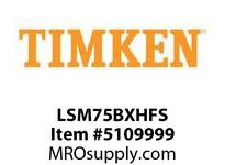TIMKEN LSM75BXHFS Split CRB Housed Unit Assembly