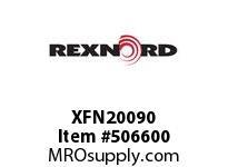 XFN20090 FLANGE CARTRIDGE BLK W/AD 6801557