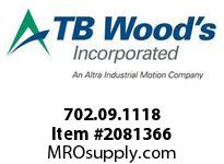 TBWOODS 702.09.1118 MULTI-BEAM 09 2MM--4MM