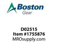 Boston Gear D02515 UJNL20-16S STEEL UNIV JOINTS