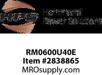 HPS RM0600U40E IREC 600A 0.040MH 60HZ EN Reactors