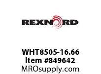 REXNORD WHT8505-16.66 WHT8505-16.66 WHT8505 16.67 INCH WIDE MATTOP CHAI