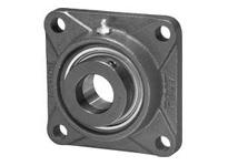 IPTCI SAF207-20-G 4-Bolt Flange Eccentric Locking Collar Bore Dia. 1 1/4^^ Narrow Inner Race Insert